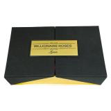 Makaronlu Tasarım Kutu Kırmızı Gül