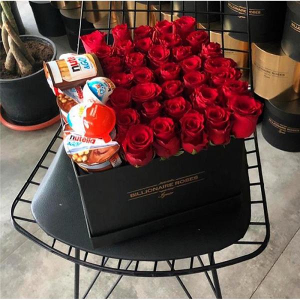 Billionaire Roses Özel Tasarım Kutu Gül Ürünler 02