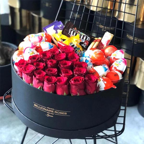 Billionaire Roses Özel Tasarım Kutu Gül Ürünler 05